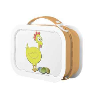 Cute Chicken Rooster Lunchbox
