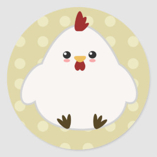Cute Chicken Stickers