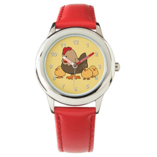Cute Chickens kids' watches