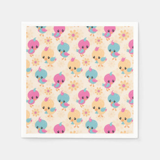 Cute Chicks paper napkins