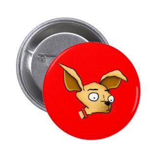 Cute Chihuahua 6 Cm Round Badge