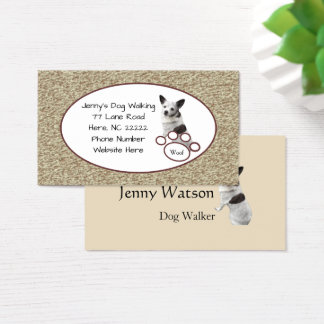Cute Chihuahua Business Card