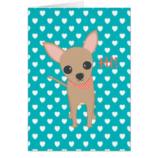 Cute Chihuahua Card