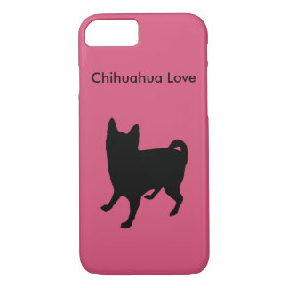 Cute Chihuahua Love Pink Phone Case