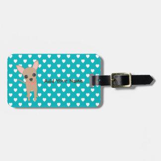 Cute Chihuahua Luggage Tag