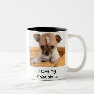 Cute Chihuahua Puppy Dog Coffee Mug