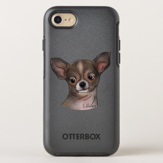 Cute Chihuahua Puppy OtterBox Symmetry iPhone 7 Case