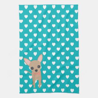 Cute Chihuahua Tea Towel