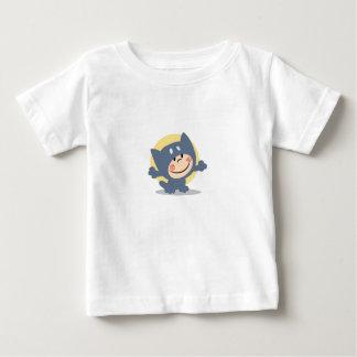 Cute Child Dressed In Cat Suit Shirt