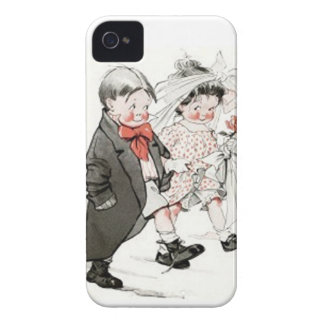 Cute Children Doing The Wedding March iPhone 4 Case