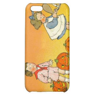 Cute Children Jack O Lantern Pumpkin iPhone 5C Covers