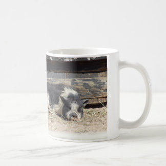 cute chilling pig Mug