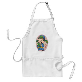 Cute Chinese God Of Education Apron