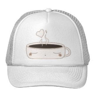 cute choco cup cap