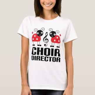 Cute Choir Director Red Ladybugs T-Shirt