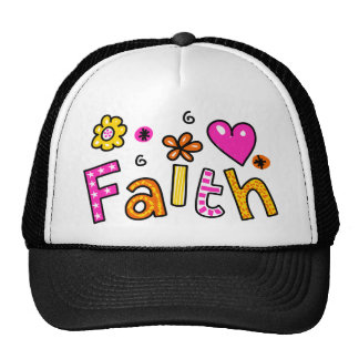 Cute Christian Faith Greeting Text Expression Trucker Hat