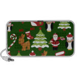Cute Christmas Collage Design with Santa Speaker