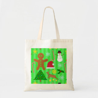 Cute Christmas Collage Holiday Pattern
