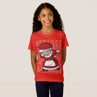 Cute Christmas Dabbing Mrs Claus T-Shirt