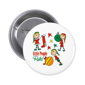 Cute Christmas Elf Gift 6 Cm Round Badge