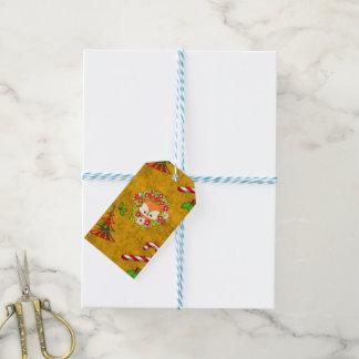 Cute Christmas Fox Gift Tags