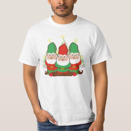 Cute Christmas Gnomes T-Shirt
