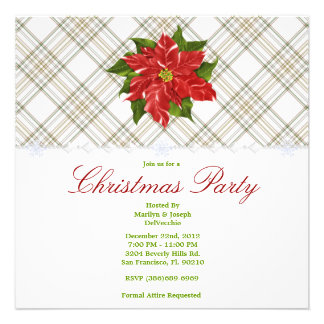 CUTE Christmas Holiday Party Announcements