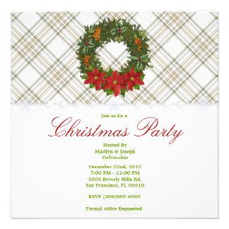 CUTE Christmas Holiday Party Custom Invitation