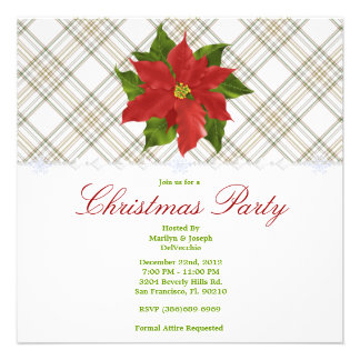 CUTE Christmas Holiday Party Invitations