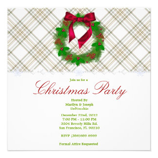 CUTE Christmas Holiday Party Invites