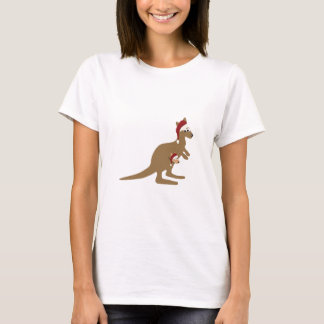 Cute Christmas Kangaroos T-Shirt