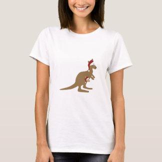Cute Christmas Kangaroos T-Shirt