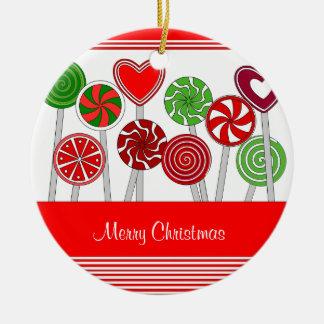 Cute Christmas Lollipops Ornament
