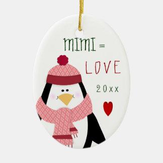 Cute Christmas Love MiMi Ornament