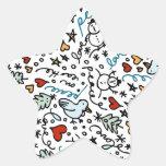 Cute Christmas Love Stickers (Star)