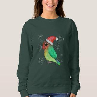 Cute Christmas lovebird Sweatshirt