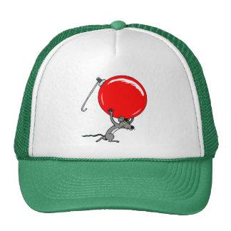 Cute Christmas Mouse Cartoon Trucker Hat