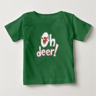 Cute Christmas Oh Deer! Toddler T-shirt
