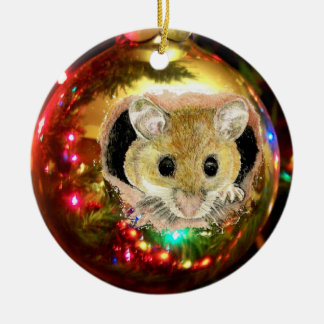 Cute Christmas Ornament Mouse
