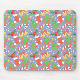 Cute Christmas Pattern Mouse Pad
