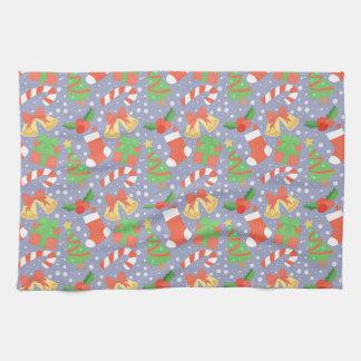 Cute Christmas Pattern Tea Towel