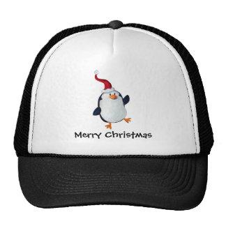 Cute Christmas Penguin Trucker Hat