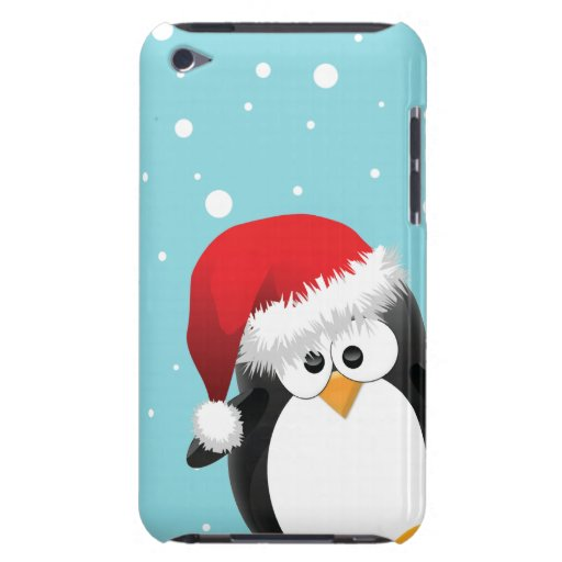 Cute Christmas Penguin Case-Mate iPod Touch Case