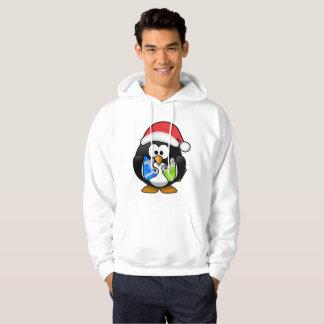 Cute Christmas Penguin Hoodie