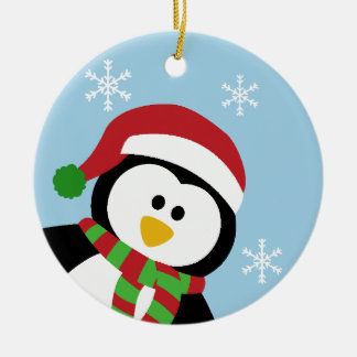 Cute Christmas Penguin Ornament