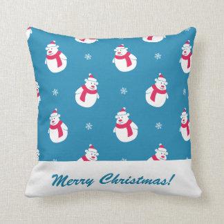 Cute Christmas Polar Bear Pillow