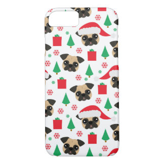 Cute Christmas Pug iPhone 8/7 Case