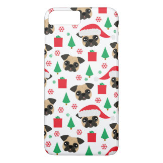 Cute Christmas Pug iPhone 8 Plus/7 Plus Case