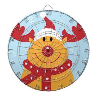 Cute Christmas Reindeer Dartboard