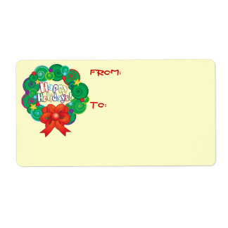 Cute Christmas Shipping Labels